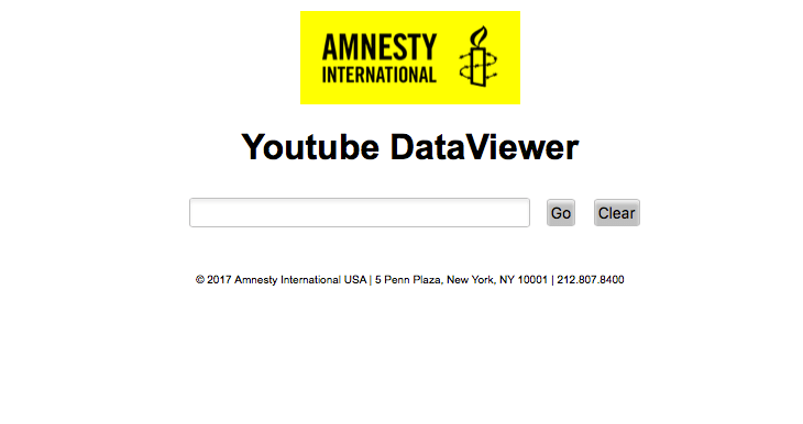 Amnesty youtube data viewer - Fake News: 8 étapes pour vérifier l'information