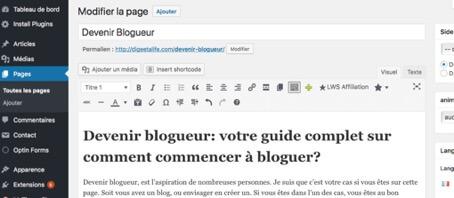 image 6 - Devenir blogueur: le guide pratique pour débutants