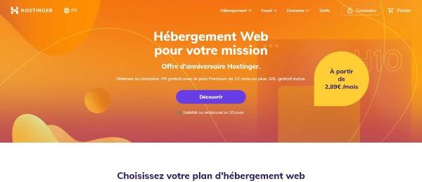 hostinger - How to choose a good web host?